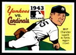 1971 Fleer World Series #41   1943 Yankees / Cardinals -   Front Thumbnail