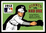 1971 Fleer World Series #10   1912 Red Sox / Giants -   Front Thumbnail