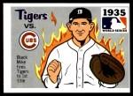 1971 Fleer World Series #33   1935 Tigers / Cubs  (Mickey Cochrane) -  Fleer World Ser Front Thumbnail