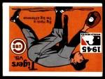 1971 Fleer World Series #43   1945 Tigers / Cubs  (Hank Greenberg) -   Front Thumbnail
