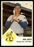 1963 Fleer #32  Ron Santo  Front Thumbnail