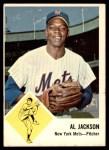 1963 Fleer #48  Al Jackson  Front Thumbnail