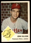 1963 Fleer #51  Johnny Callison  Front Thumbnail