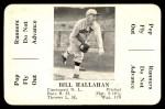 1936 S&S Game  Bill Hallahan  Front Thumbnail