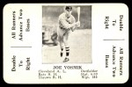 1936 S&S Game  Joe Vosmik  Front Thumbnail