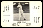 1936 S&S Game  Mule Haas  Front Thumbnail