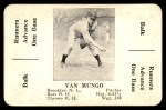 1936 S&S Game  Van Mungo  Front Thumbnail