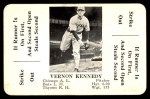 1936 S&S Game  Vernon Kennedy  Front Thumbnail