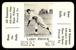 1936 S&S Game  Larry French  Front Thumbnail