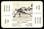 1936 S&S Game  Rip Collins  Front Thumbnail