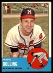 1963 Topps #570  Frank Bolling  Front Thumbnail