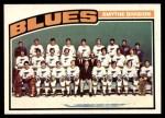 1976 O-Pee-Chee NHL #146   Blues Team Front Thumbnail