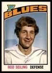 1976 O-Pee-Chee NHL #280  Rod Seiling  Front Thumbnail