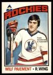 1976 O-Pee-Chee NHL #37  Wilf Paiement  Front Thumbnail