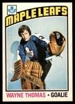 1976 O-Pee-Chee NHL #84  Wayne Thomas  Front Thumbnail