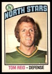1976 O-Pee-Chee NHL #123  Tom Reid  Front Thumbnail