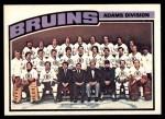 1976 O-Pee-Chee NHL #133   Bruins Team Front Thumbnail