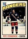 1976 O-Pee-Chee NHL #166  Pete Stemkowski  Front Thumbnail