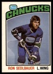 1976 O-Pee-Chee NHL #271  Ron Sedlbauer  Front Thumbnail