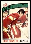 1976 O-Pee-Chee NHL #202  Curt Bennett  Front Thumbnail