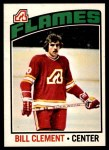 1976 O-Pee-Chee NHL #82  Bill Clement  Front Thumbnail