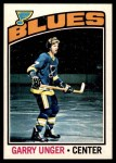 1976 O-Pee-Chee NHL #260  Garry Unger  Front Thumbnail