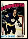 1976 O-Pee-Chee NHL #239  Butch Goring  Front Thumbnail