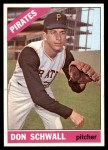 1966 Topps #144  Don Schwall  Front Thumbnail