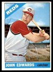 1966 Topps #507  Johnny Edwards  Front Thumbnail