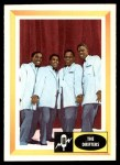 1960 Fleer Spins and Needles #31  The Drifters  Front Thumbnail