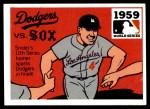1971 Fleer World Series #57   1959 Dodgers / Wh.Sox  (Duke Snider) -   Front Thumbnail