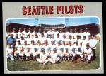 1970 Topps #713   Pilots Team Front Thumbnail