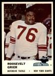 1961 Fleer #77  Roosevelt Grier  Front Thumbnail