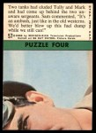 1966 Topps Rat Patrol #57   Two Tanks Had Eluded Tully and Mark Back Thumbnail