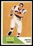 1960 Fleer #109  Doug Cline  Front Thumbnail