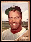 1962 Topps #463  Hank Bauer  Front Thumbnail