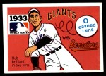 1971 Fleer World Series #31   1933 Giants / Senators -    Front Thumbnail