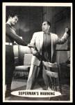 1966 Topps Superman #21   Superman's Warning Front Thumbnail
