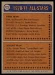 1974 Topps #129   -  Phil Esposito All-Star Back Thumbnail