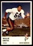 1961 Fleer #149  Willie Smith  Front Thumbnail