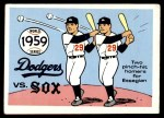 1970 Fleer World Series #56   -  Chuck Essegian 1959 Dodgers vs. White Sox   Front Thumbnail