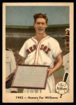 1959 Fleer #21   -  Ted Williams  Honors for Williams Front Thumbnail