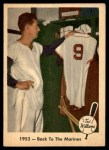 1959 Fleer #44   -  Ted Williams Back to Marines Front Thumbnail