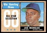 1968 Topps #364   -  Joe Morgan All-Star Front Thumbnail