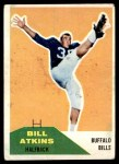 1960 Fleer #24  Bill Atkins  Front Thumbnail