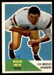 1960 Fleer #118  Ron Mix  Front Thumbnail
