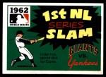 1971 Fleer World Series #60   1962 Yankees / Giants -   Front Thumbnail