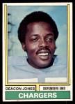 1974 Topps #390  Deacon  Jones  Front Thumbnail