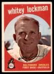 1959 Topps #411  Whitey Lockman  Front Thumbnail
