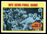 1972 Topps #136   -  Ken Willard NFC Semi-Final Game Front Thumbnail